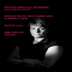Stage spécial femmes 2018
