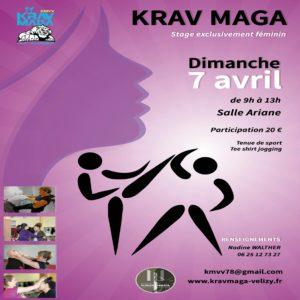Stage Krav Maga Femmes - Avril 2019